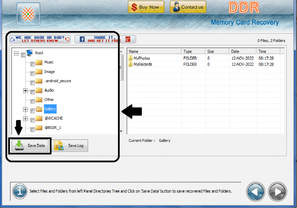 Recover Deleted Data of Memory Card