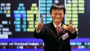 Alibab Jack Ma in India