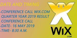 Wix.com 2019 Conference Call