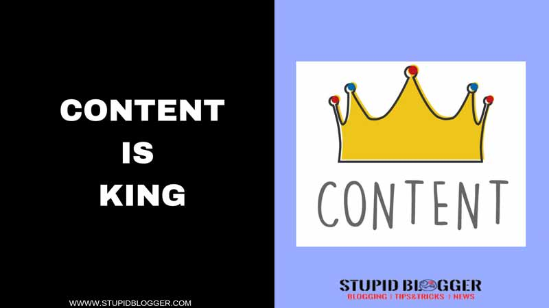 STUPIBLOGGER.COM CONTENT IS KING NO DOUBT ABAOUT THAT