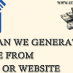 How can We Generate Income from a Blog or Website
