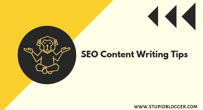 SEO content writing tips