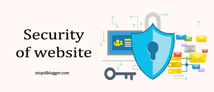 Security of web hosting