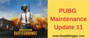 PUBG Update 11