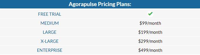 Agorapulse cost social media marketing tool