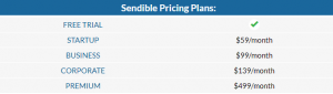How much does Sendible cost