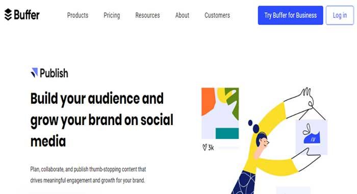 buffer social media marketing tool