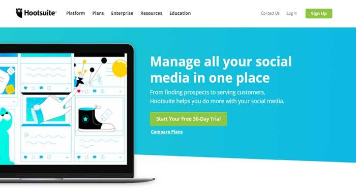 hootsuite social media marketing tool