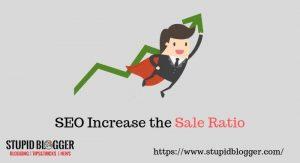 Increase sales ratio