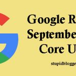Google Released 2019 core update