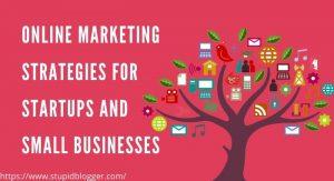 online marketing strategies for startups