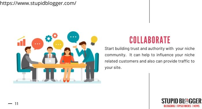 Collaborate with niche community
