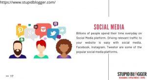 Use social media platforms