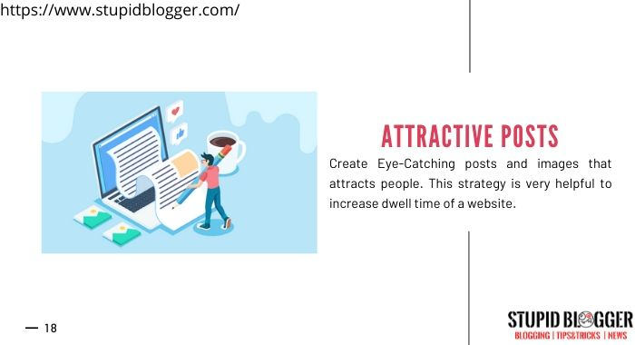 Create attractive post