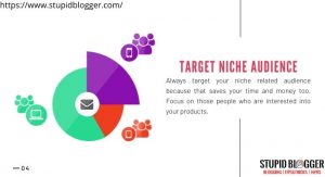 While doing online business only target niche customers