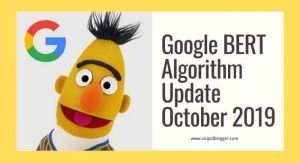 Google BERT Algorithm Update