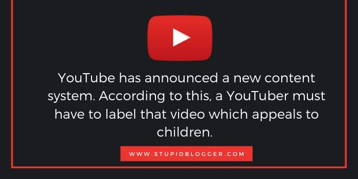 Youtube's new content system