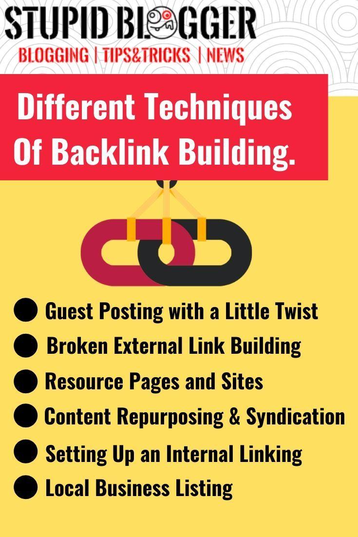 link buiding techniques