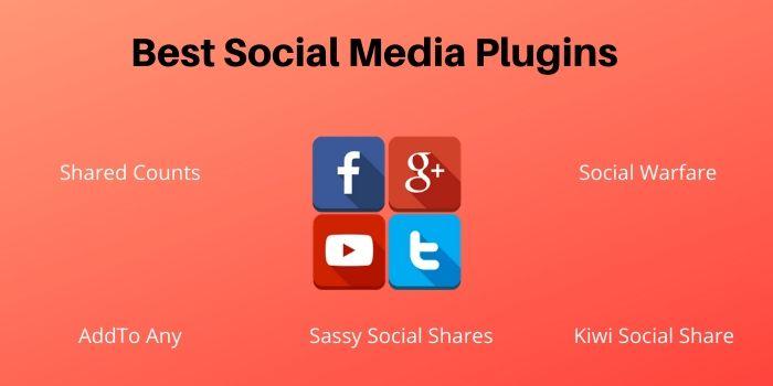 free social media plugins
