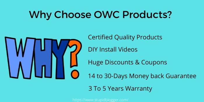 Why choose OWC coupon Codes