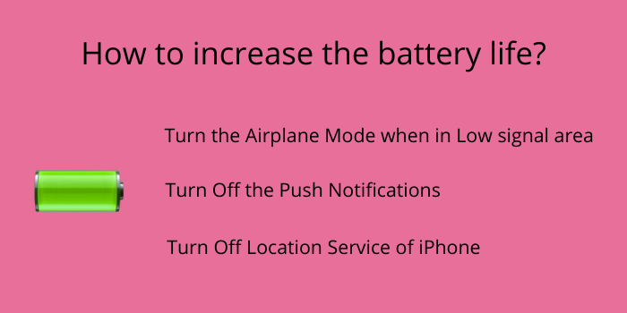 how to maximize the battery life of iphone