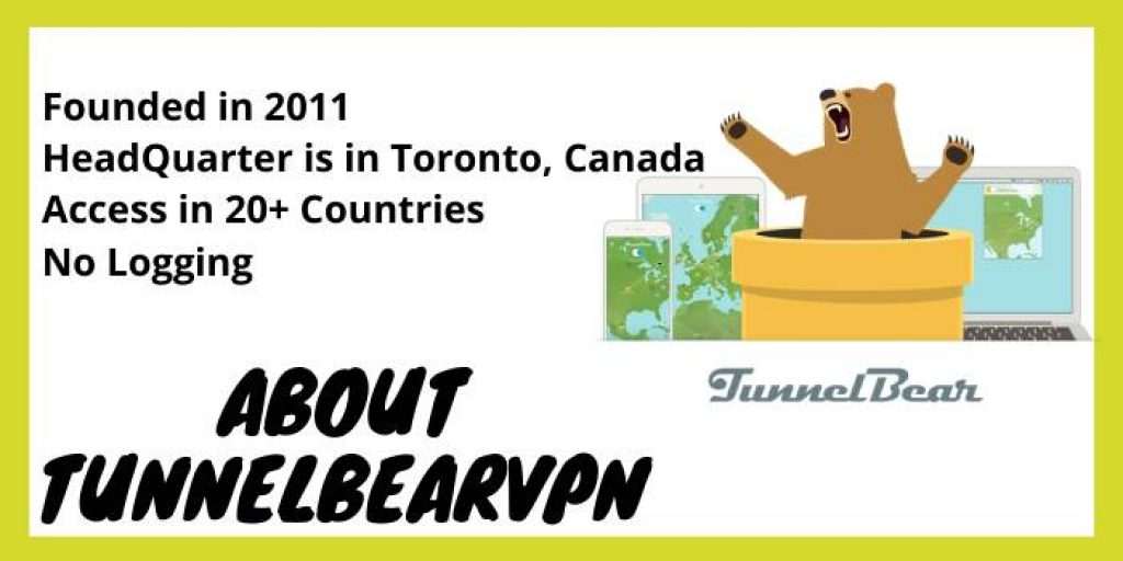 About TunnelBear VPN