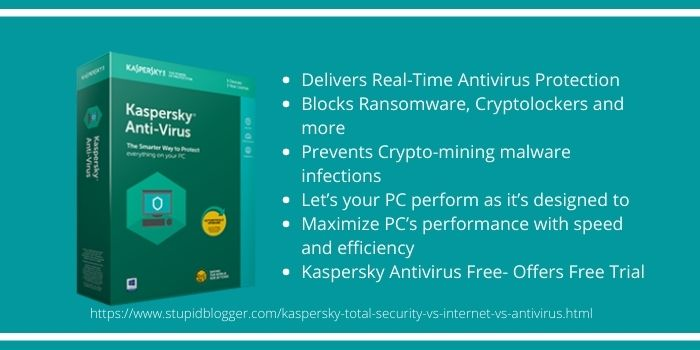 Kaspersky Antivirus Features