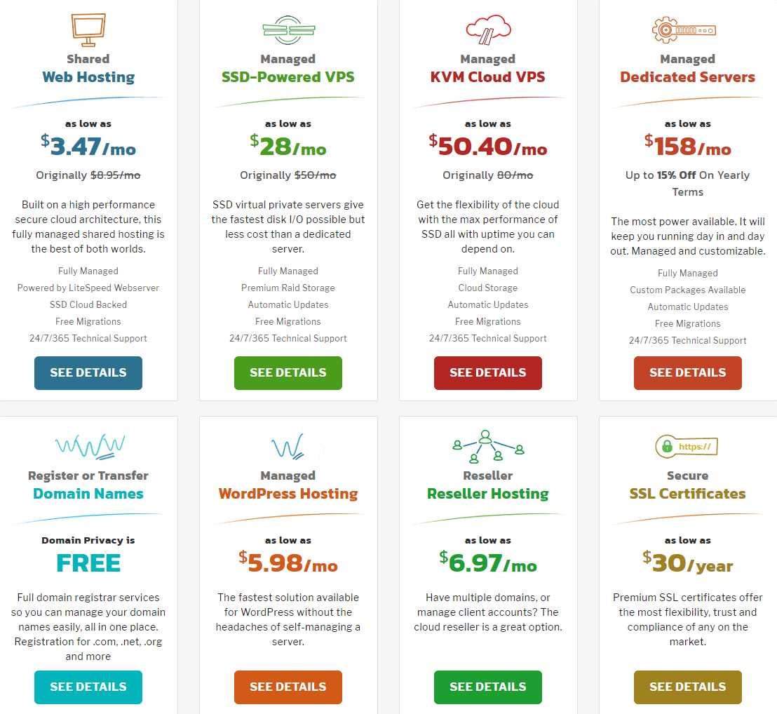 Knownhost Web Hosting Plans