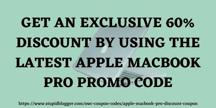 Apple MacBook Pro Promo Code