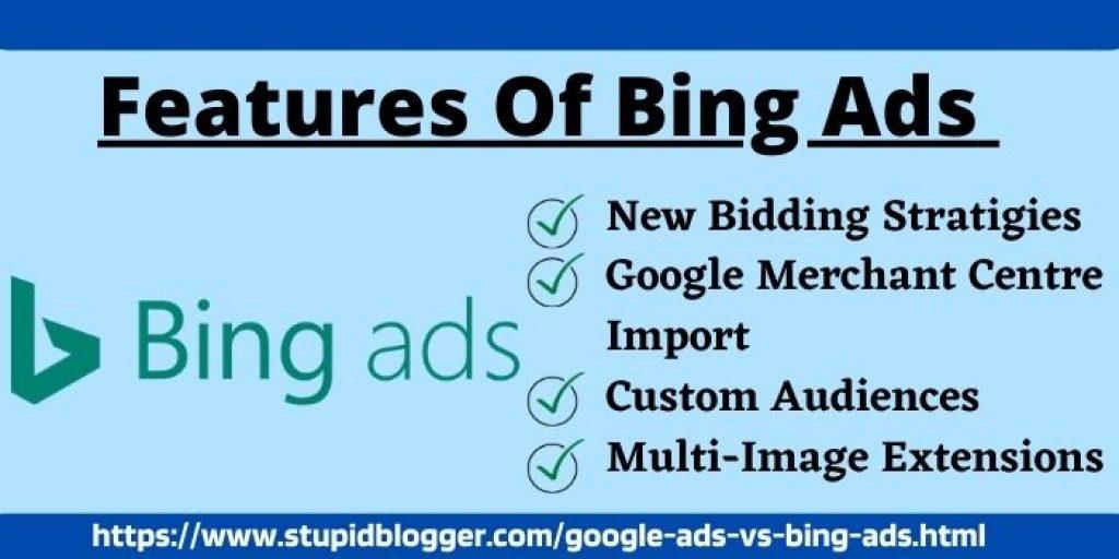 Bing ads vs google ads