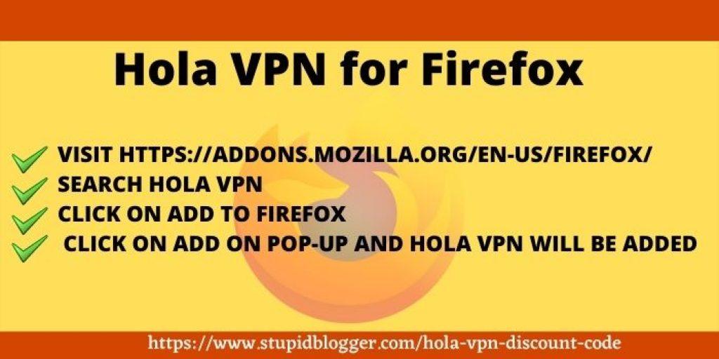 Hola VPN for Firefox