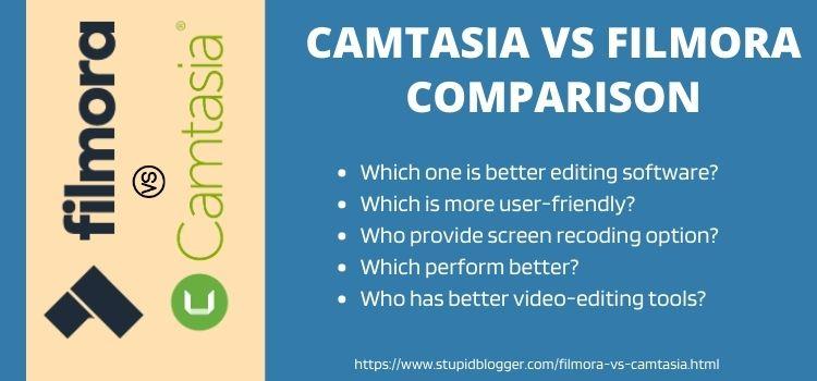 camtasia vs filmora comparison