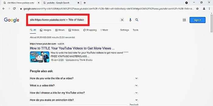 how to watch deleted YouTube videos without link