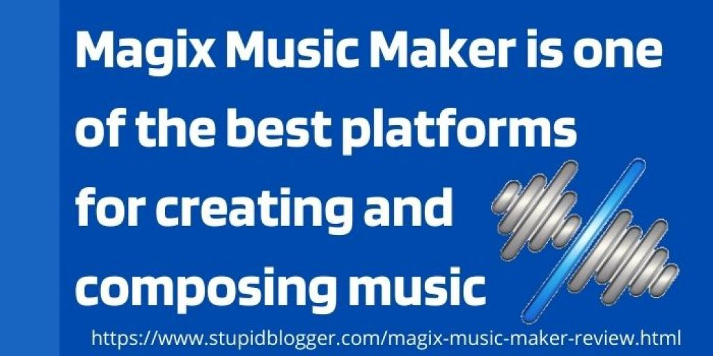 Features of Magix Music Maker Review