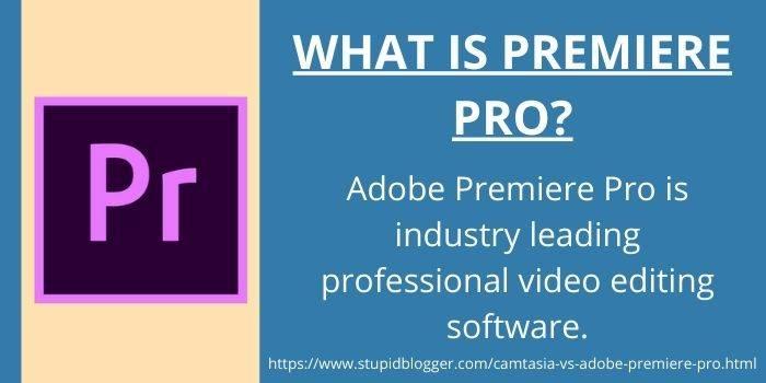 About Adobe Premiere Pro