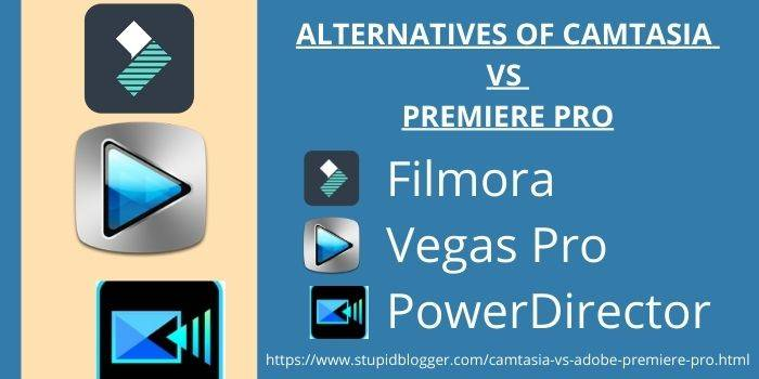 Alternatives Of Camtasia And Premiere Pro