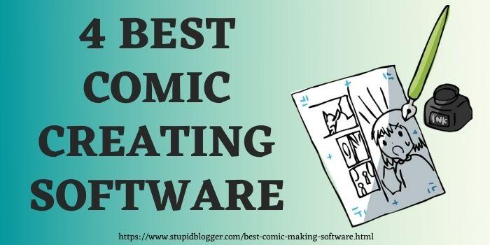 Best comic making software www.stupidblogger.com