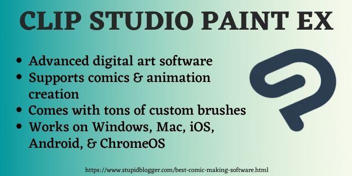 CSP Ex best software for comics
