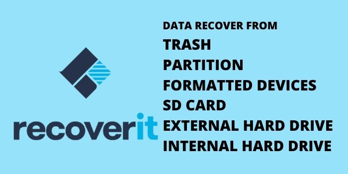 Features of Recoverit Software
