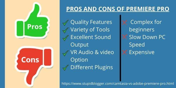 Pros and Cons of Adobe Premiere Pro