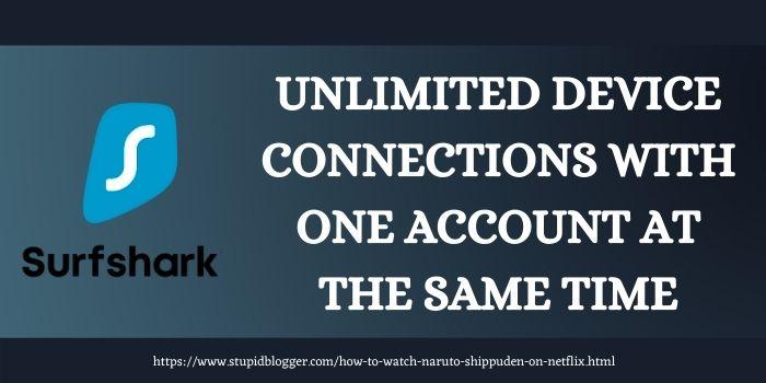 Surfshark Affordable VPN for Netflix Naruto