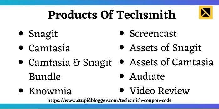 Techsmith Snagit And Camtasia Discount Code