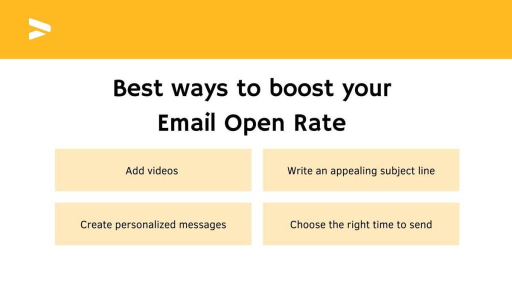Best ways to boost your Email Open Rate