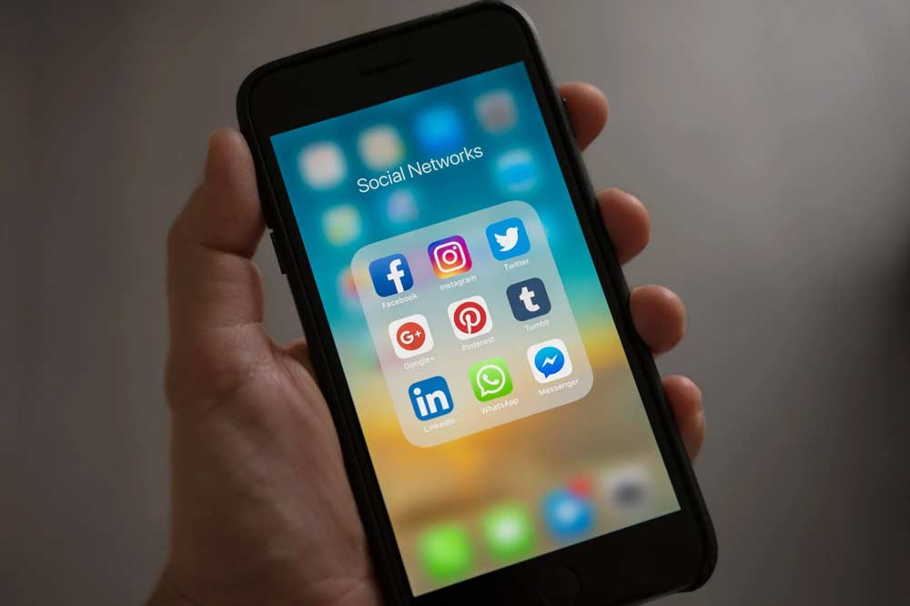 advertisements on social media