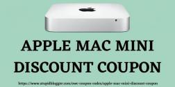Apple Mac Mini Discount Coupon 2021
