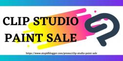 Clip Studio Paint Sale 2021| Get Instant 50% Off On This CSP Sale 2021