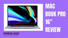 "New Apple Macbook Pro 16""  review"